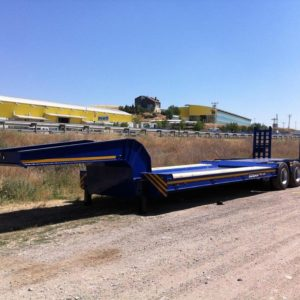New Ozsan Trailer 3 Axle Low-Bed (OZS-L3) low bed semi-trailer