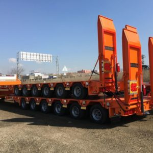 New Ozsan Trailer 6 Axle Low-Bed (OZS-L6) low bed semi-trailer